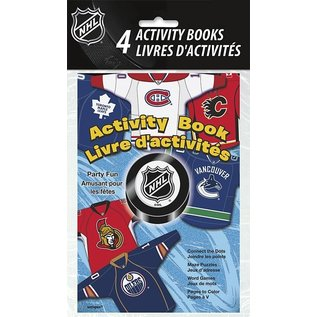 Activity Book-NHL-4pk