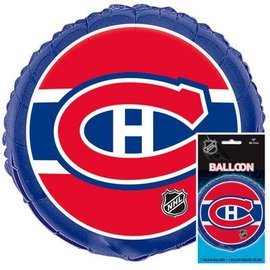 Foil Balloon - NHL - Montreal Canadians - 18""