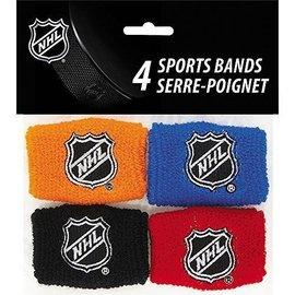 Sports Bands-NHL-4pkg