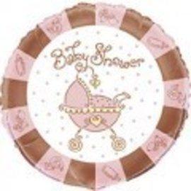 Foil Balloon - Baby Joy Pink - 18''