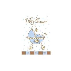 Invitations-Baby Joy Blue-8pk