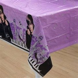 Table Cover-Justin Bieber-Plastic-54''x84'' (Discontinued)
