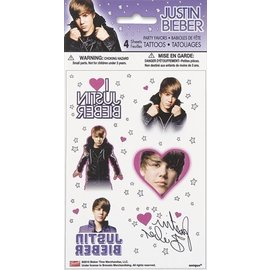 Tattoos-Justin Bieber-4sht (Discontinued)