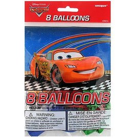 Balloons-Latex-Disney Pixar Cars-12''-8pk