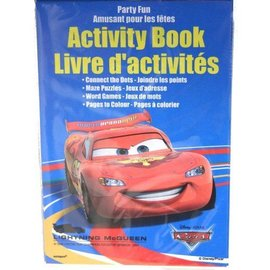 Activity book-Disney Pixar Cars-4pk