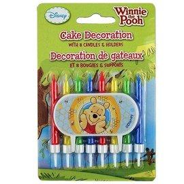 Candles-Winnie the Pooh-8pk