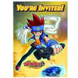 Invitations-Beyblade-8pk (Discontinued)
