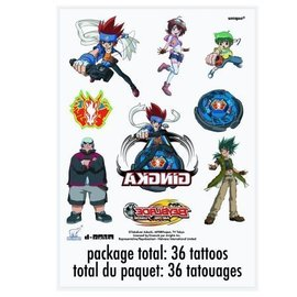 Tattoos-Beyblade-36pk (Discontinued)