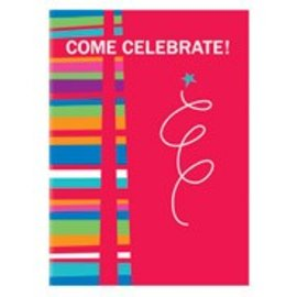 Invitations-Celebrate!-Red-8pk