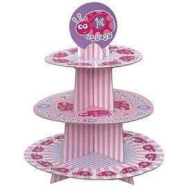 Cupcake Tree-1st Bday Ladybug