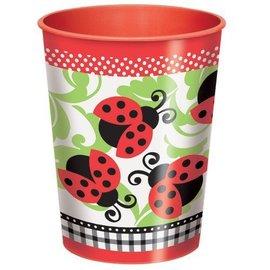 Cup- Lady Bug-Plastic-16oz