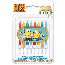 Candles-Despicable Me 2-8pk