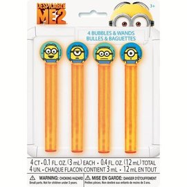 Bubbles & Wands-Despicable Me-4pk