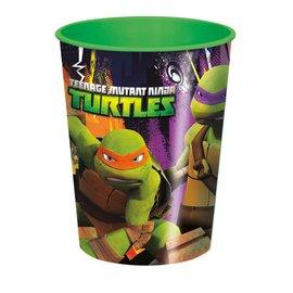 Cups-Plastic Teenage Mutant Ninja Turtles