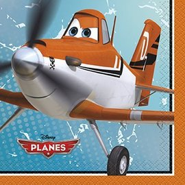 Napkins-BEV-Disney Planes-16pk-2ply - Discontinued