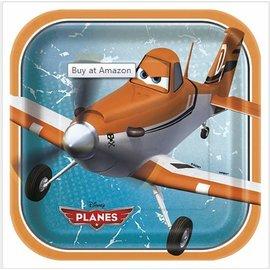 Plates-LN-Disney Planes-8pk-Paper - Discontinued