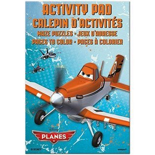 Activity Pad-Disney Planes-4pk (Discontinued)