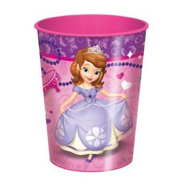 Cup-Sofia the First-Plastic-16oz - Discontinued