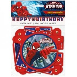 Banner-Ultimate Spider-Man-Paper-5.41Ft