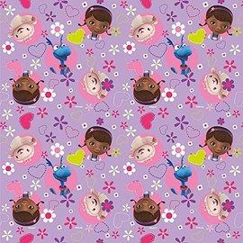 Gift Wrap-Doc McStuffins-30'' x 5'