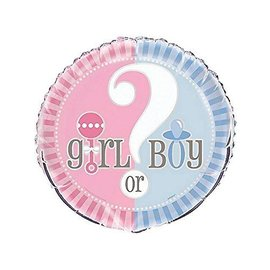 Foil Balloon - Gender Reveal - 18''