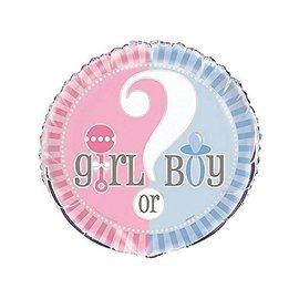 Foil Balloon - Gender Reveal - 18''