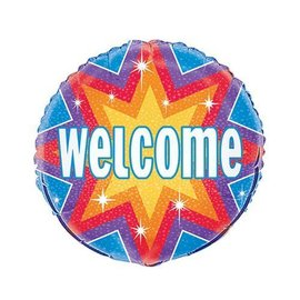 Foil Balloon - Welcome Dazzle - 18''