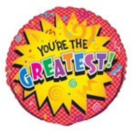 Foil Balloon - You are the Greatest - 18''