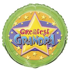 Foil Balloon - Greatest Grandpa - 18''