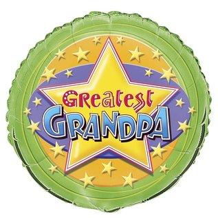 Foil Balloon - Greatest Grandpa - 18''