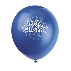 Balloons-Latex-Happy Retirement-12'' (6pk)