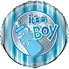 Foil Balloon - It's A Boy Bottle - 18''