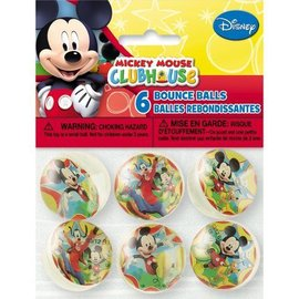 Bounce Ball-Mickey Mouse Clubhouse-6pk