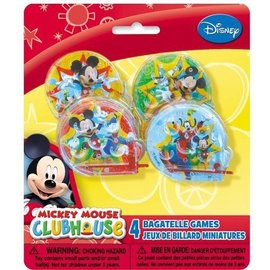 Bagatelle Game-Mickey Mouse Cluhouse-4pk