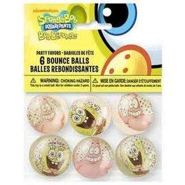 Bounce Ball-SpongeBob-6pk