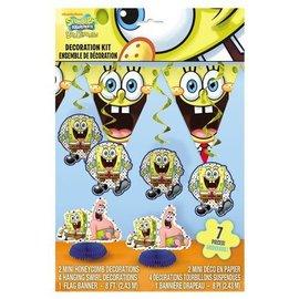 Decor Kit-Sponge Bob-7pk