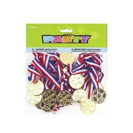 Award Medals- Winner- 24pk