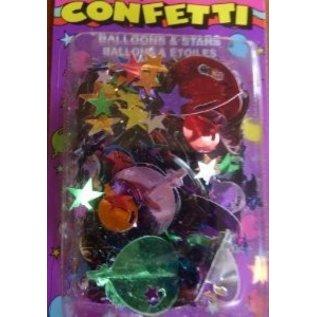 3D Confetti- Balloons & Stars- 14g
