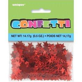 Confetti- Red Stars- 14g
