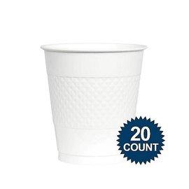 Cups-Frosty White-12oz/20pkg-Plastic