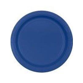 Plates-BEV-Marine Blue-20pkg-Plastic