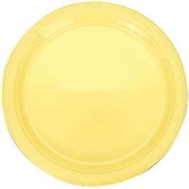 Plates-LN-Light Yellow-20pk-Plastic