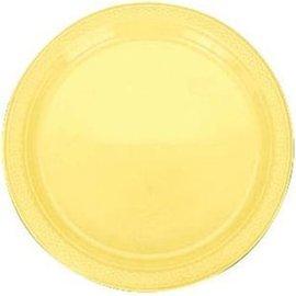 Plates-LN-Light Yellow-20pk-Plastic
