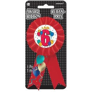 Award Ribbon- I am 6-5.5''