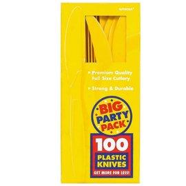 Knives-Premium-Yellow Sunshine-Box/100pkg-plastic