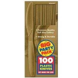 Knives-Premium-Gold-Box/100pkg-Plastic