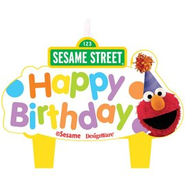 Candles-Sesame St Set