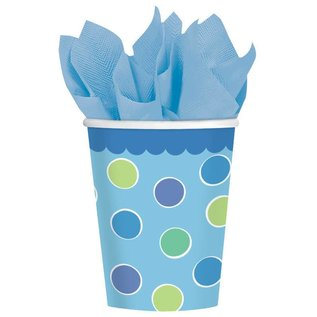Cups-Cupcake Boy-Paper-9oz-18pk - Discontinued