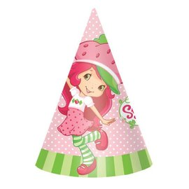 Hats-Cone-StrawBerry-8pk-Paper