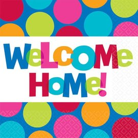 Napkin-BN-Welcome Home-Cabana Dot-16pk-2ply - Discontinued